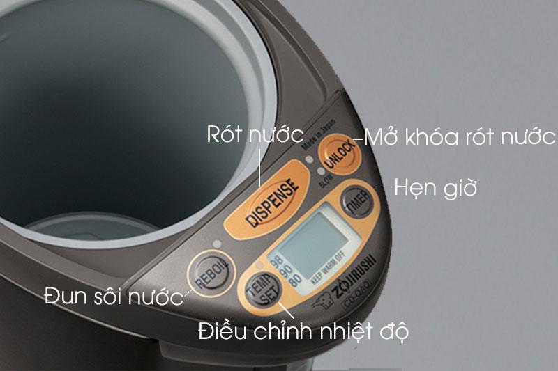 Bình thủy Zojirushi CD-QAQ40-TA