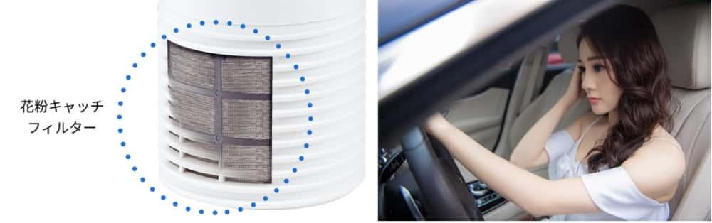 Lọc không khí ô tô Sharp IG-KC15