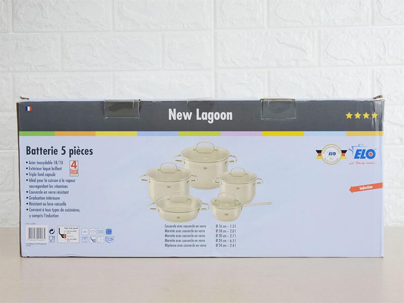 Bộ nồi Elo New Lagoon 5 món