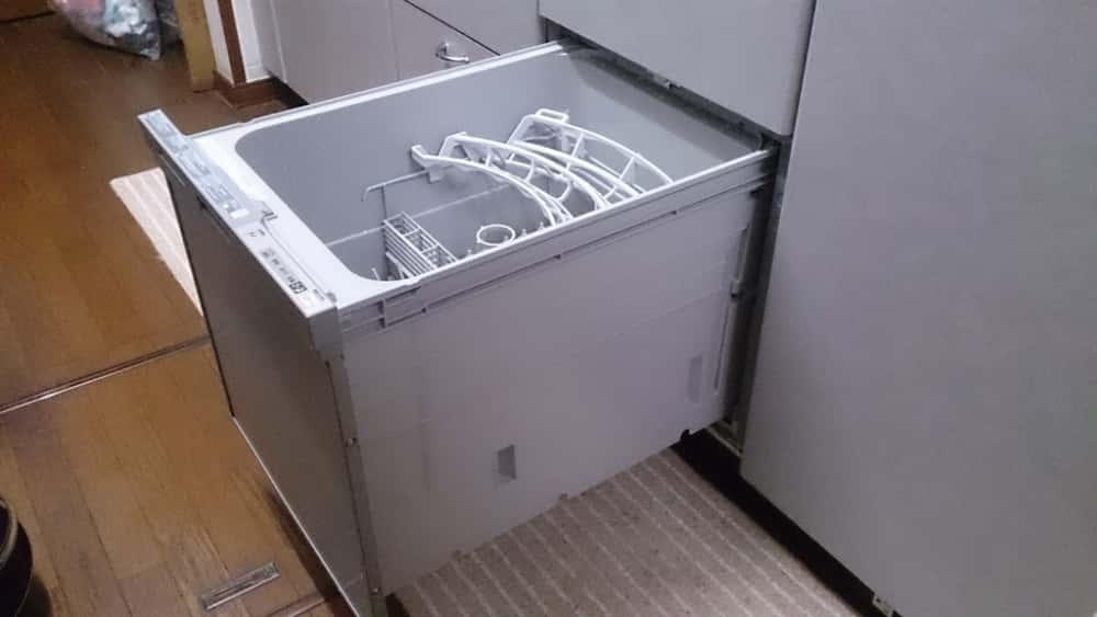 Máy rửa bát âm tủ Rinnai RKW-404A