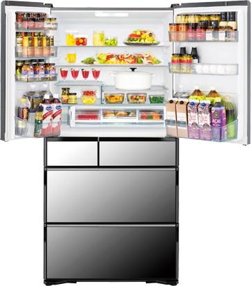 Tủ lạnh Hitachi R-WXC74N 735 lít, phiên bản 2021