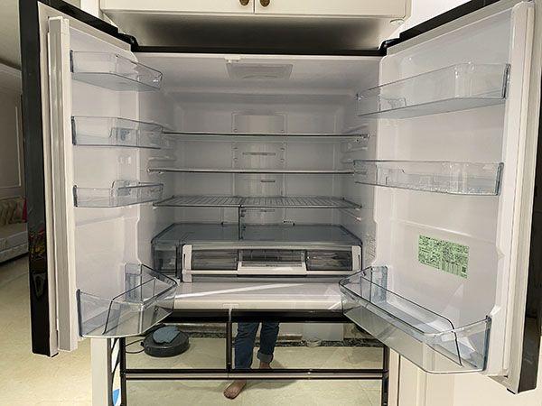 tủ lạnh Hitachi R-WXC74N