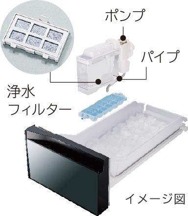 Tủ lạnh Hitachi R-HW60N